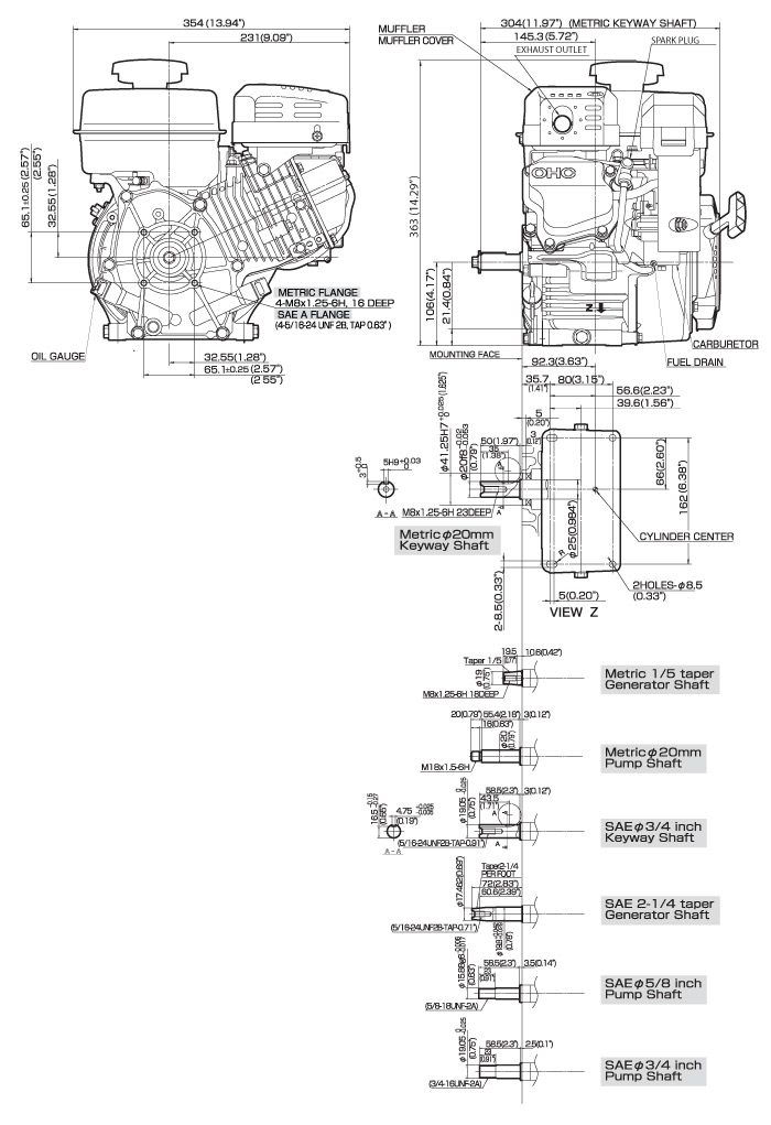 Ex17 Small Ohc Engine Technical Information Subaru