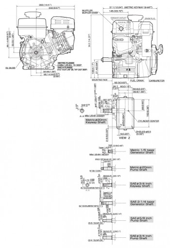 Ex21 Small Ohc Engine Technical Information Subaru