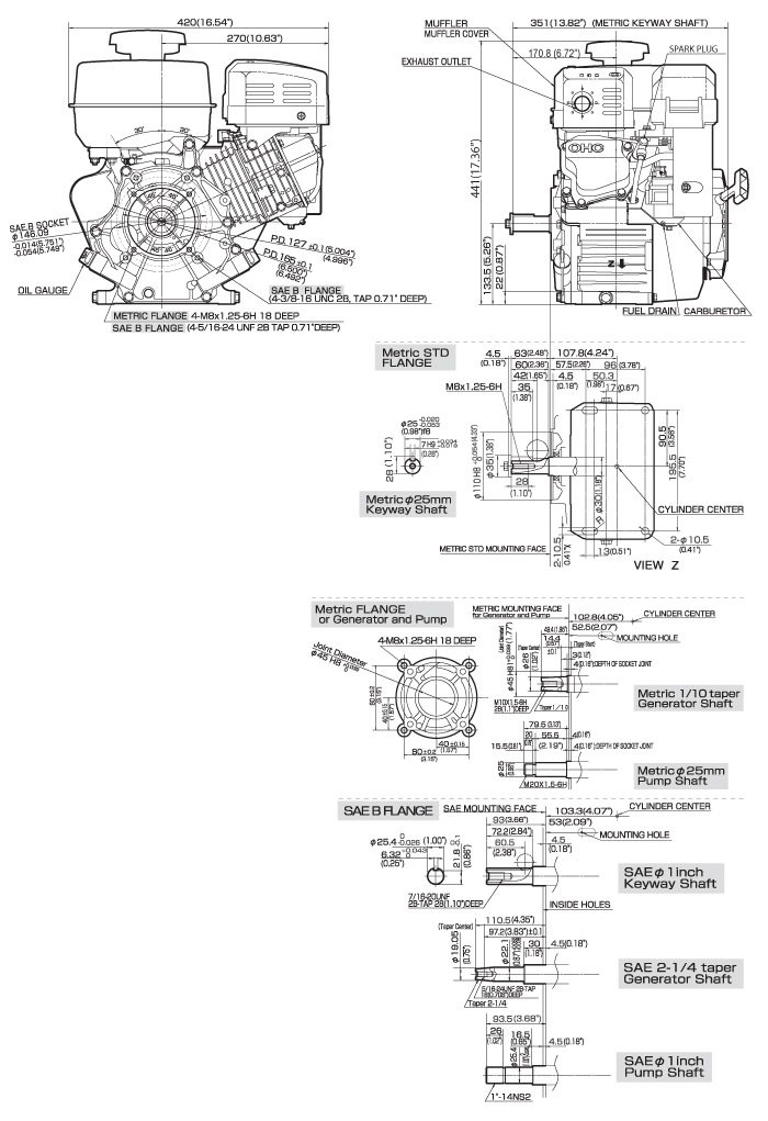 Ex27 Small Ohc Engine Technical Information